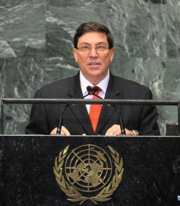 Brundo Rodriguez Parrilla, foreign minister of Cuba