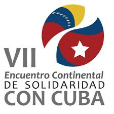 7th continental meeting of solidarity with cuba