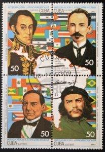 Bolivar, Marti, Che
