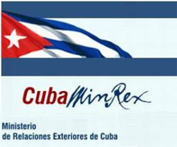 Cuba Min of foreign affairs