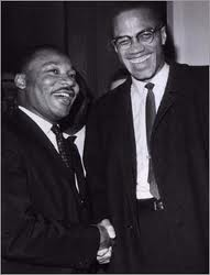 mlkk and malcolm x