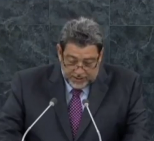 ralph gonsalves at the un