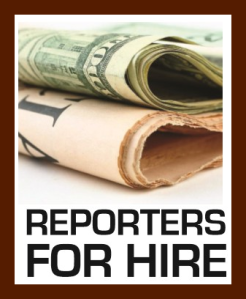 reporters for hire