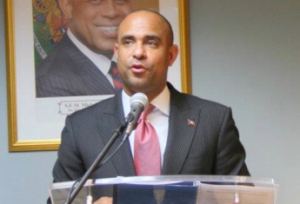 Haitian  Prime Minister Laurent Lamothe