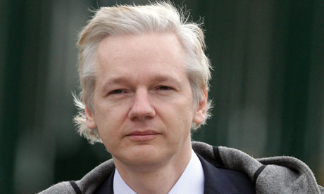 Julian Assange and the people at Wikileaks are a source of constant inspiration