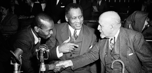 Paul Robeson World Peace Conference - Salle Pleyel - Paris