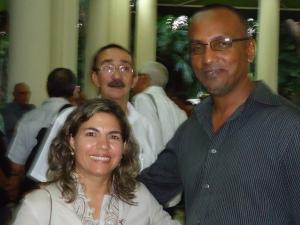 Haleem with ICAP President Kenia 5