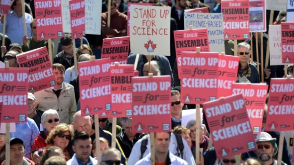 scientists protest 2