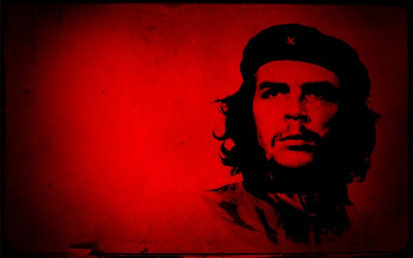 che in red