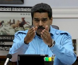 maduro denounces media attack
