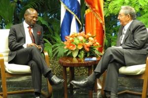Raul y Douglas St Kitts