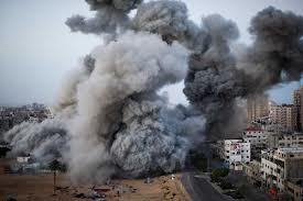 Gaza strip bombed