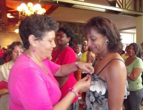 cuban women's fed awards 2014