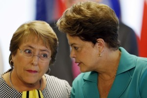 dilma rousseff and michelle bachelet