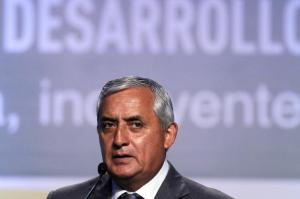 guatemalas president otto perez molina
