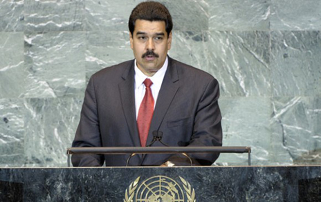 nicolas maduro at the un 50