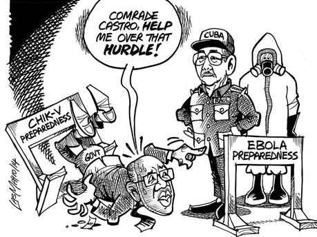las may gleaner cartoon ja seeks cuba help