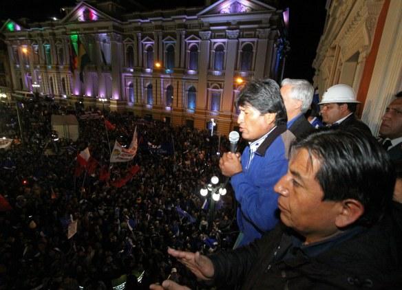 Morales wins a thrid term 2