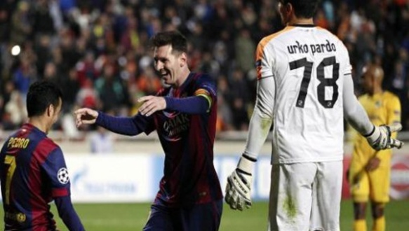 messi breaks record
