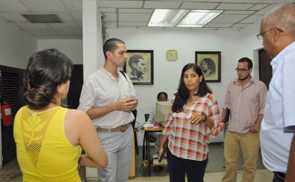 new york times journalist visits granma international