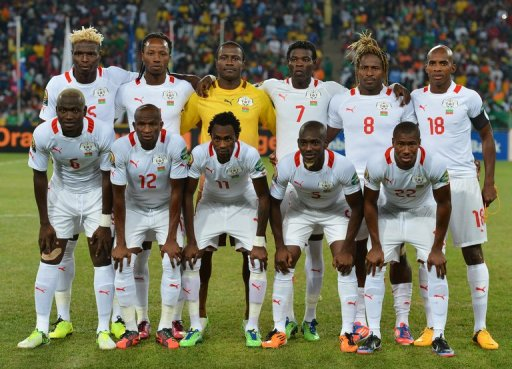Burkina Faso football team