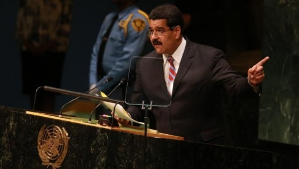 Nicolas Maduro at the UN