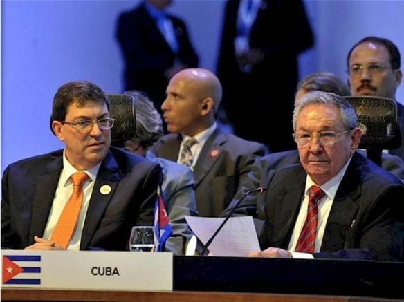 raul addresses the 3rd celac summit in costa rica