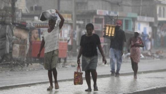 haitians flee