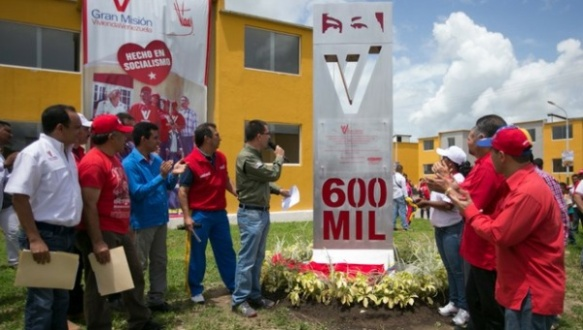 venezuela housing project benefits over 600000