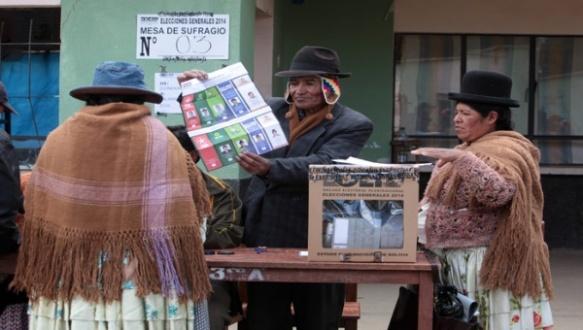 Bolivia MAS wins again
