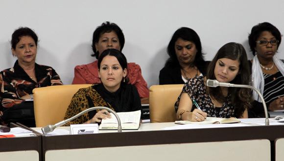 cuban women in parliament