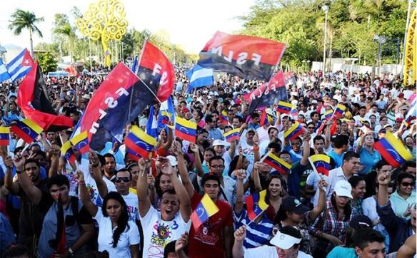 nicaragua in solidarity with venezuela