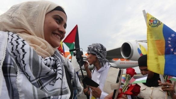 palestinian students study free unvenezuela