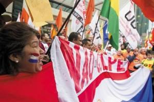 social movements in oaraguay