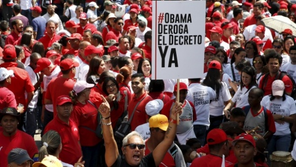 venezuela protest against imperialism