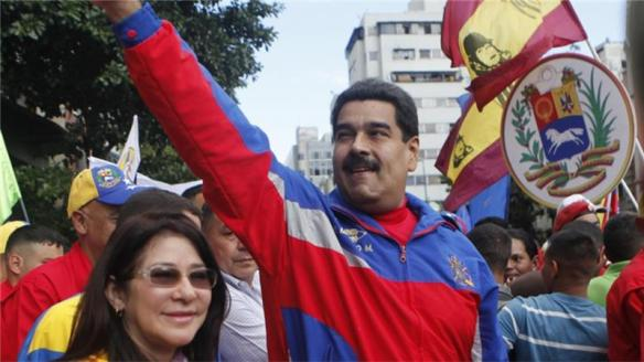 maduro with the people