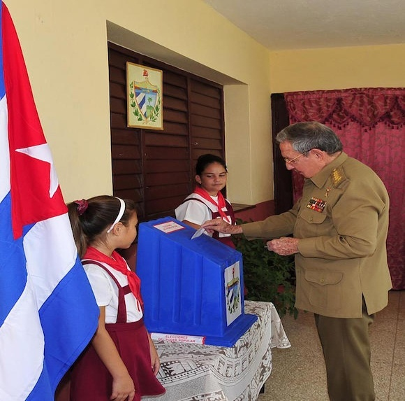 raul votes in local elections 2015