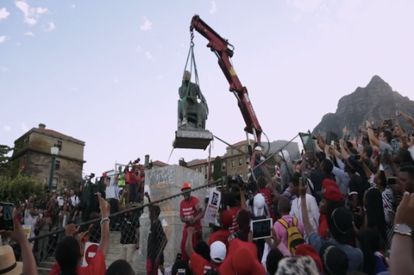 rhodes statue removed 1