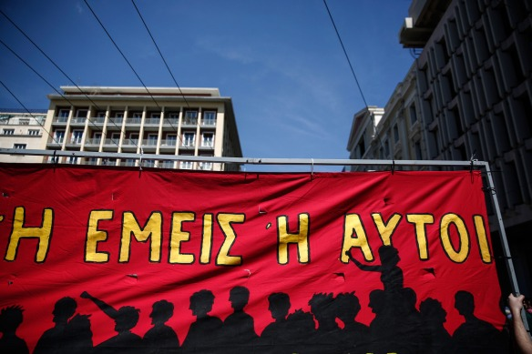 may day 2015 greece