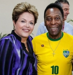 pele and dilma2