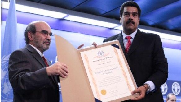 UN awards Venezuela