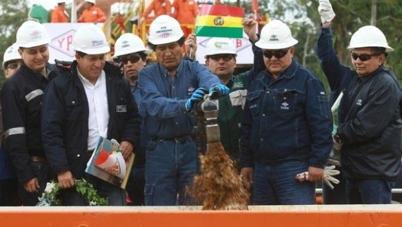 evo morales bolivia finds more oil 2