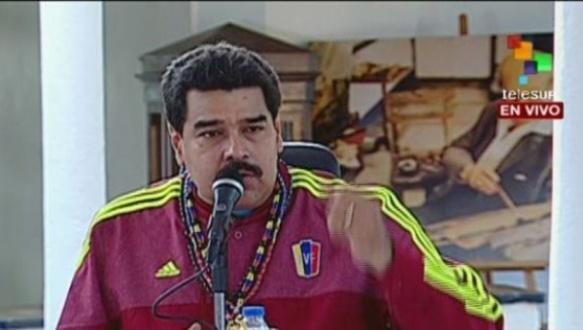 maduro solidarity with ecuador