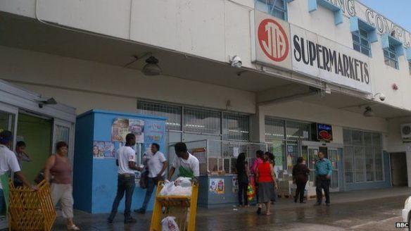 A Trinidad supermarket received almost $5m