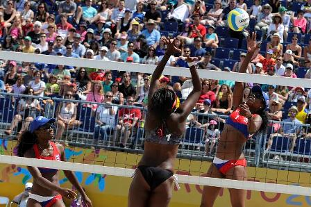 cuba volleyball pan am 2015