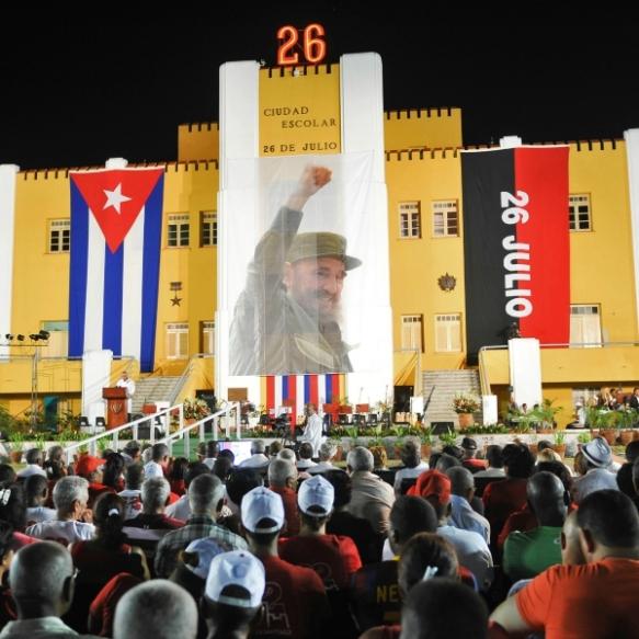cubans celebrate july 26 2015