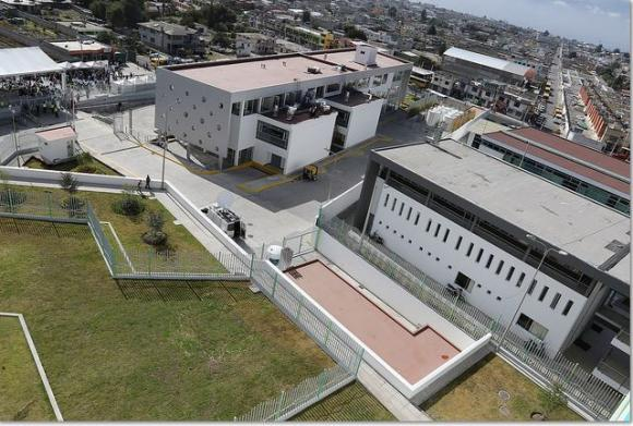 modern health facility in quito