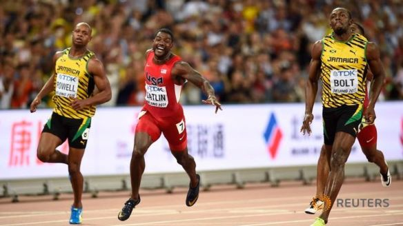 bolt wins 100m in bejing 2015 3