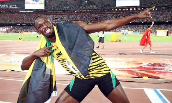 bolt wins 100m in bejing 2015 6