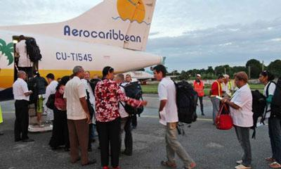 cuban medical brigade off to dominica